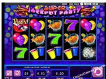 lojra elektronike Super Jackpot Party William Hill Interactive